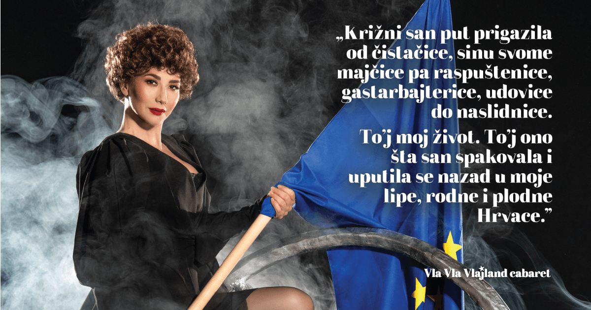 Dani Dubrave: Vla vla vlajland cabaret 11. 6.